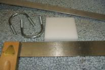 Cutting board, Aluminum, & U bolts